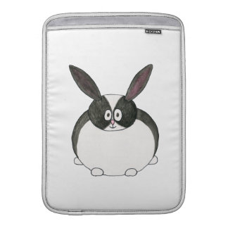 Black and White Dutch Rabbit. Sleeve For MacBook Air