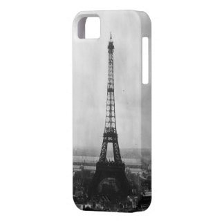 Black and white eiffel tower iPhone 5 case