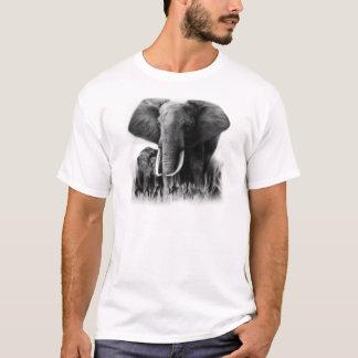 Black And White Elephants T-Shirt