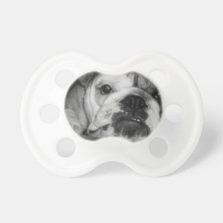 Black and White English Bulldog Puppy Dummy
