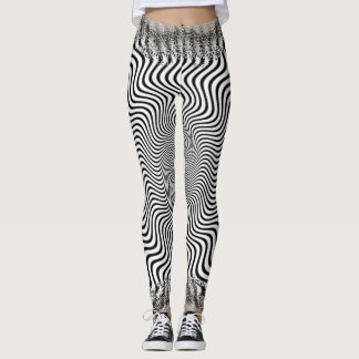 Black and White Evella Leggings