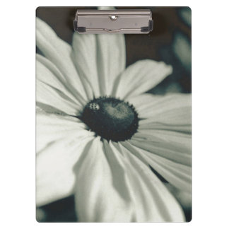Black and White - Eyed Susan Clipboard