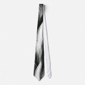 Black and White Feather Ties