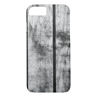 BLACK AND WHITE FENCE iPhone 7 CASE