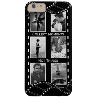 Black and White Film Reel Barely There iPhone 6 Plus Case