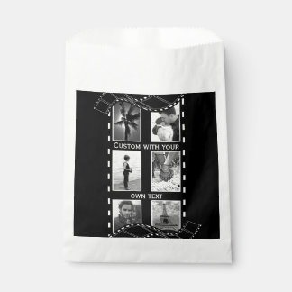 Black and White Film Reel Favour Bags