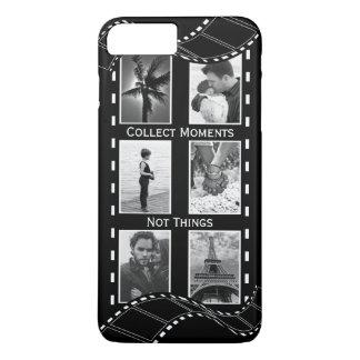 Black and White Film Reel iPhone 7 Plus Case