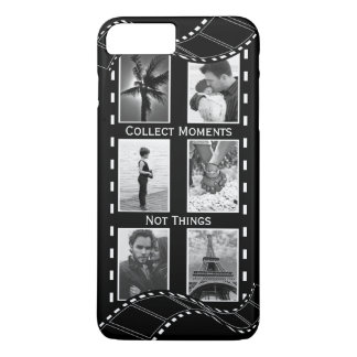 Black and White Film Reel iPhone 8 Plus/7 Plus Case
