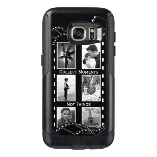 Black and White Film Reel OtterBox Samsung Galaxy S7 Case