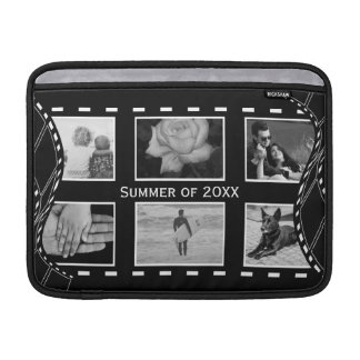Black and White Film Reel Sleeve For MacBook Air