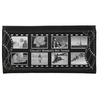 Black and White Film Reel Wallet