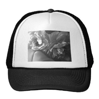 Black and White Flora Hats