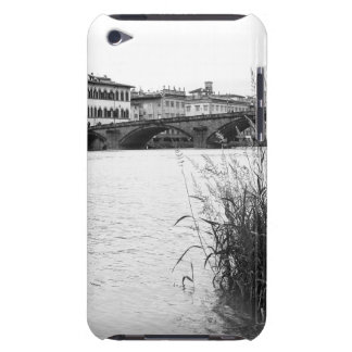 Black and White Florence River Arno iPod Touch Case-Mate Case