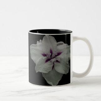 Black and White Flower Mug