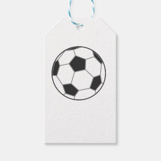Black and White Football Gift Tags