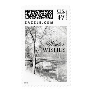 Black and White, Garfield Park, Indianapolis Stamps