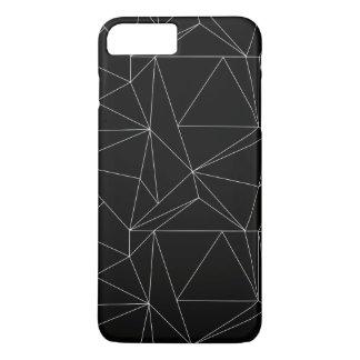 Black and White Geometric iPhone 8 Plus/7 Plus Case
