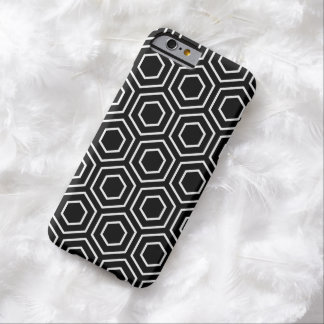 Black and White Geometric Pattern iPhone 6 Case Barely There iPhone 6 Case