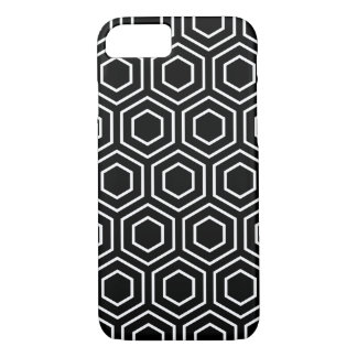 Black and White Geometric Pattern iPhone 7 Case