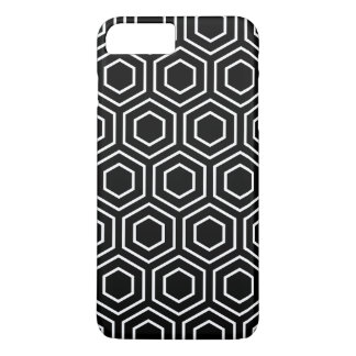 Black and White Geometric Pattern iPhone 7 Plus Ca iPhone 8 Plus/7 Plus Case