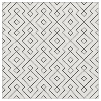 black and white geometrical pattern modern print