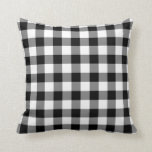Black and White Gingham Pattern