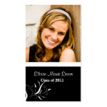 Black and White Graduation Rep card Pack Of Standard Business Cards