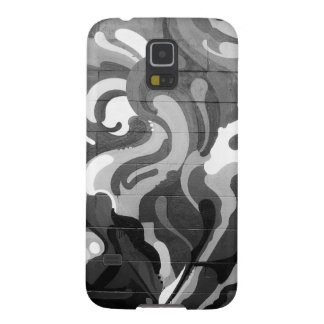 Black and White Graffiti Swirl Pattern in San Fran Galaxy S5 Case