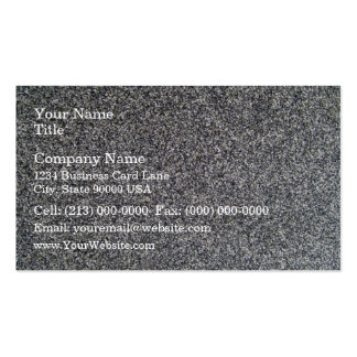 Black And White Grain Texture Business Card Template