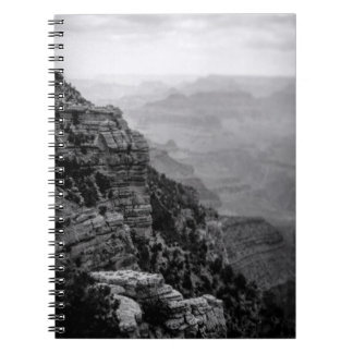 Black and White Grand Canyon Notebook