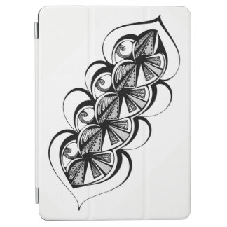 """Black and White Graphic on Apple 9.7"""" IPad Pro iPad Pro Cover"""