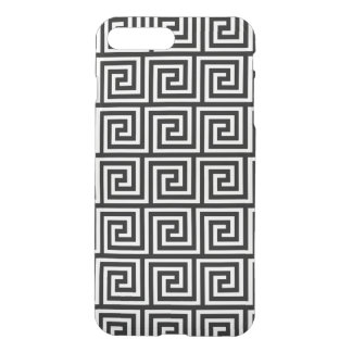 Black and White Greek Key Pattern iPhone 8 Plus/7 Plus Case