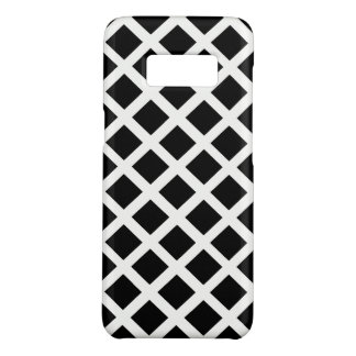 Black And White Grid Optical Illusion Pattern Case-Mate Samsung Galaxy S8 Case
