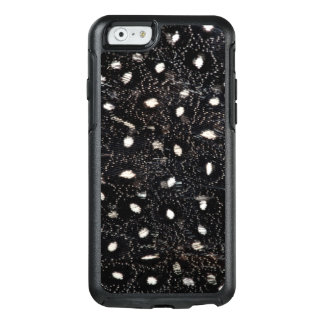 black and white guinea fowl feather OtterBox iPhone 6/6s case