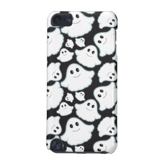 Black and White Halloween Ghost; Ghosts iPod Touch (5th Generation) Case