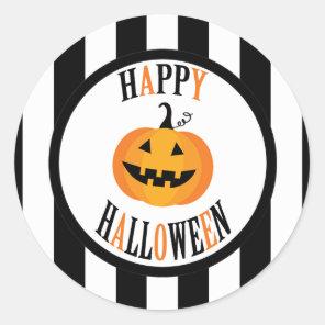 Black and White Halloween Sticker