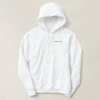 Black and white hoddy hoodie