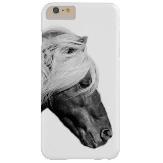 Black and white horse animal photo barely there iPhone 6 plus case