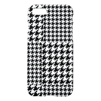 Black and White Houndstooth iPhone 7 matte case