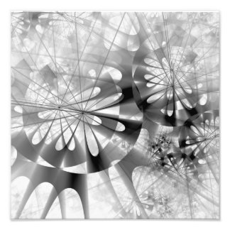 Black And White Industrial Abstract Art Photo