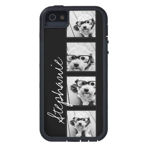 Black and White Instagram Photo Collage iPhone 5 Cover
