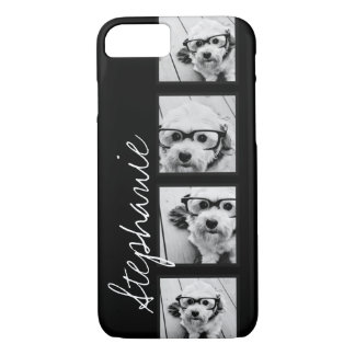 Black and White Instagram Photo Collage iPhone 8/7 Case