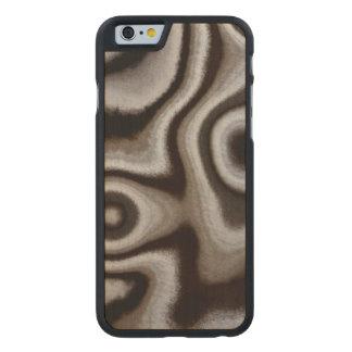 Black and white Jasper stone Carved® Maple iPhone 6 Slim Case