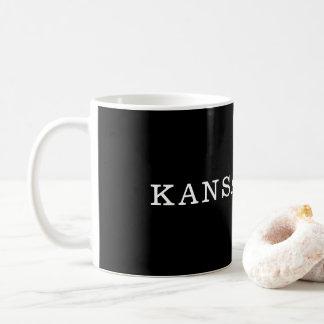Black and White Kansas City Mug