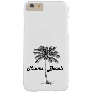 Black and White Key West Florida & Palm design Barely There iPhone 6 Plus Case
