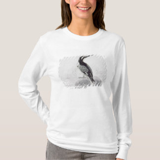 Black and White Kingfisher T-Shirt