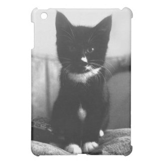 Black and White Kitten Cover For The iPad Mini