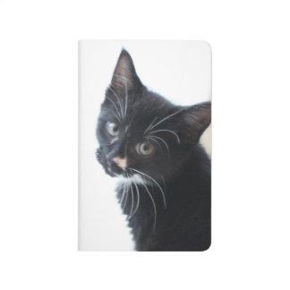 Black and White Kitten Journal