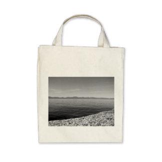 Black And White Landscape 12 Canvas Bag