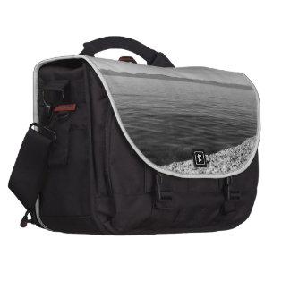 Black And White Landscape 12 Laptop Computer Bag